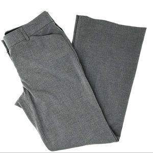 Express Editor Short Gray Wide Leg Pants